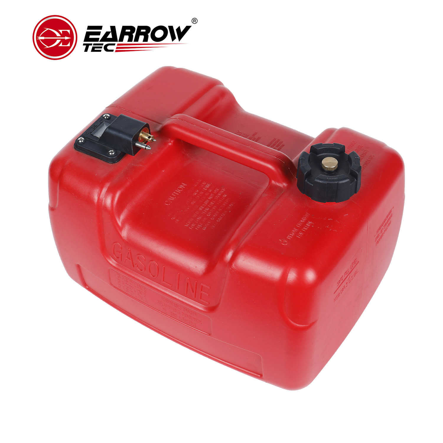 24L Fuel Tank for Outboard Motor Gasoline Storage Outboard Engine Boat Engine